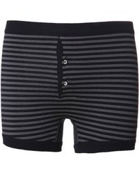 Etiquette Grand Striped Trunk blue - Lyst