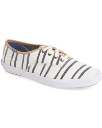 Keds 'Champion - Washed Beach Stripe' Sneaker - Lyst