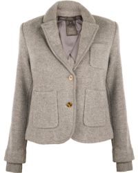 Marc By Marc Jacobs Skylar Sweater Jacket gray - Lyst
