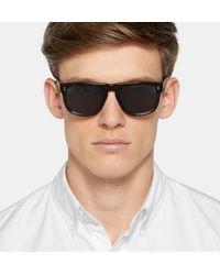 Cutler & Gross - Square-frame Tortoiseshell Acetate Sunglasses - Lyst