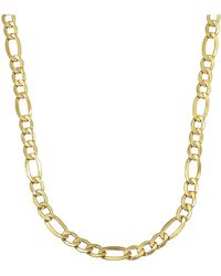 Lord + Taylor 14k Yellow Gold Mens Necklace - Metallic