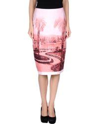 Just In Case Knee Length Skirt - Lyst