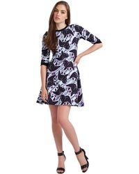 Calla - Austin Lily Print Dress - Lyst