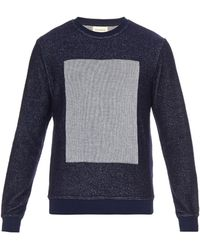 Oliver Spencer - Peru Square-panel Sweatshirt - Lyst