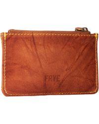 Frye Campus Stitch Card Case - Lyst