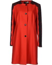 Love Moschino Coat - Lyst