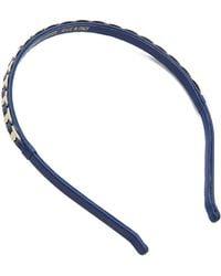 Ferragamo Varin Headband - New Iris/Oro - Lyst