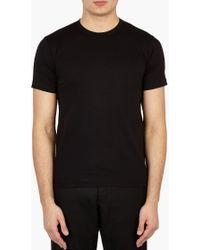 Comme des Garçons   Black Cotton T-shirt   Lyst