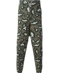 Adidas Camouflage Loose Fit Track Pants - Lyst