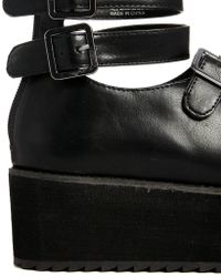YRU - Mirage Low Chunky Flat Sandals - Lyst