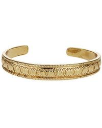 Topshop Freedom Found Engraved Bangle - Lyst