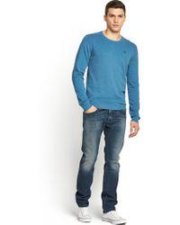 Diesel Mens Thavar 830x Slim Low Rise Jeans - Lyst