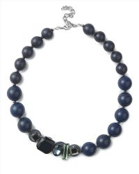 Jaeger - Crystal Beaded Ball Necklace - Lyst