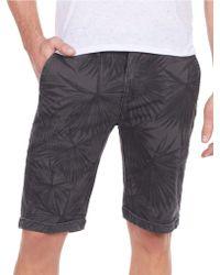 William Rast - Palm Leaf Shorts - Lyst