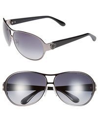 Marc By Marc Jacobs 64Mm Aviator Sunglasses - Lyst
