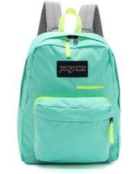 Jansport Digital Digibreak Backpack  Aqua Dash - Lyst