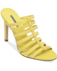 BCBGeneration Callie Gladiator Sandals - Lyst