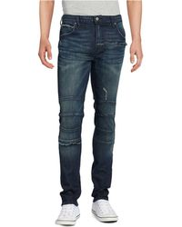 Rogue State - Frayed Indigo Jeans - Lyst