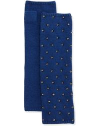 Portolano Studded Knit Arm Warmer - Lyst