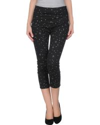 Lulu & Co Denim Capris - Lyst