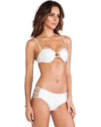 Tallow One Wish Bra Bikini - White
