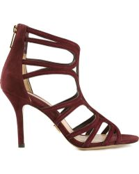 Michael Kors Red Norma Pumps - Lyst