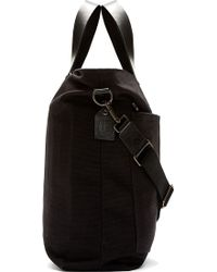 Rag & Bone - Black Canvas Rugged Tote Bag - Lyst