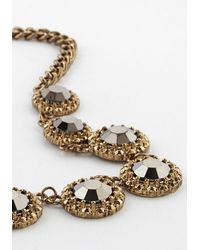 Zad Fashion Inc. - Chain Refraction Necklace - Lyst