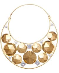 Vickisarge - Fallen Angel Crystal Gold-Plated Necklace - Lyst