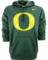 Nike Mens Oregon Ducks Warp Performance Hoodie - Lyst