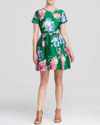 Kate Spade Stelli Floral Print Dress - Lyst