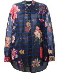 Sonia by Sonia Rykiel Floral Print Shirt - Lyst