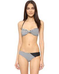 Giejo - Butterfly Bandeau Bikini Top - Lyst