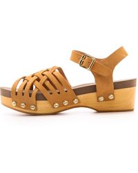 Flogg - Milli Woven Sandals - Black - Lyst