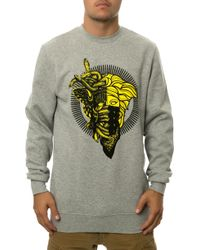 Crooks And Castles The 2 Faced Medusa Sweatshirt - Lyst