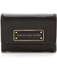 Marc By Marc Jacobs Too Hot To Handle Card Case - Black - Lyst