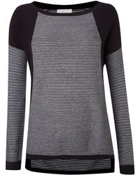 Linea Weekend Textured Knit Jumper - Lyst