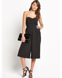 Tfnc Staley Cullotte Jumpsuit - Lyst
