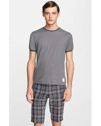 Thom Browne Cotton & Cashmere T-Shirt - Lyst