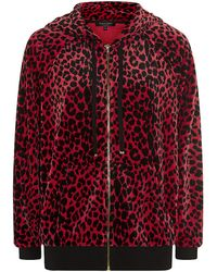 Juicy Couture Leopard Relaxed Hoodie - Lyst