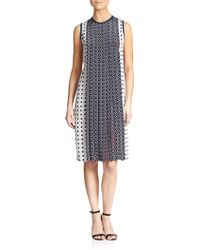 Mother Of Pearl Arlene Silk Pleated Dress - Lyst