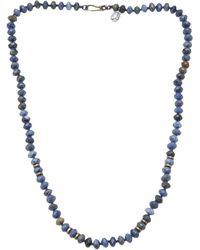 Joseph Brooks - Dumortierite Necklace - Lyst