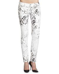 McQ by Alexander McQueen Bleached Spray Skinny Jeans - Lyst