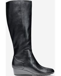 Cole Haan Tali Grand Tall Boot black - Lyst