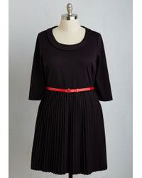 ModCloth | Presentation Perfection Dress In Black | Lyst