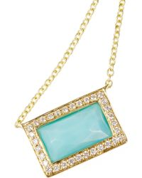 Ippolita - Rock Candy® 18-karat Gold, Turquoise And Diamond Necklace - Lyst