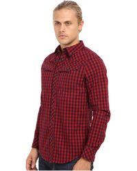 G-star Raw Tailor Ls Shirt in Murdo Check Twill Dark Baron - Lyst