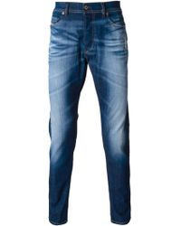 Diesel Stone Washed Jeans - Lyst