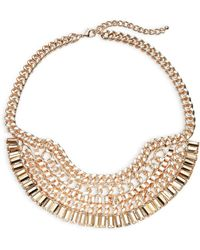 Panacea - Multi-chain Bib Necklace - Lyst