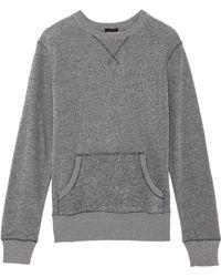 ATM Kangaroo Pocket Sweatshirt - Lyst